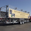 Rolling Billboard Package The stage trailer side panels are professionally decaled with customer supplied artwork.