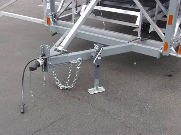 Lightweight Heavy Duty Mobile Stage System You Can Tow With SUV